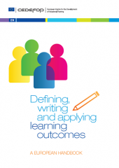 Defining, writing and applying learning outcomes. A European handbook