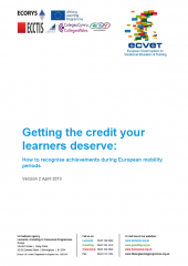 Getting the credit your learners deserve